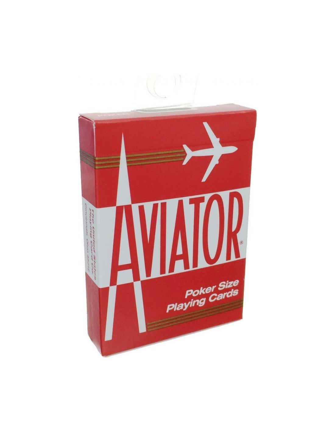Cards Aviator Poker size (Red) Kartendeck Spielkarten Online Shop Playing Cards - Deutschland